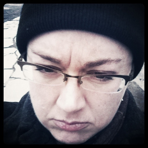 pouty me hating the return of toque weather