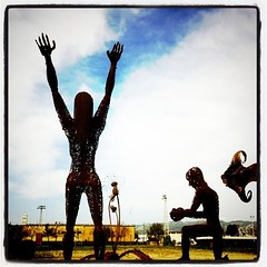 Skyward (apophis_93) Tags: oakland burningman sculptures grandave ocvbphoto2011