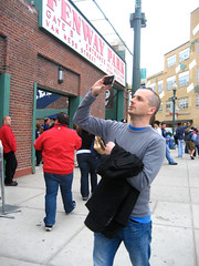 Mark at Fenway Park