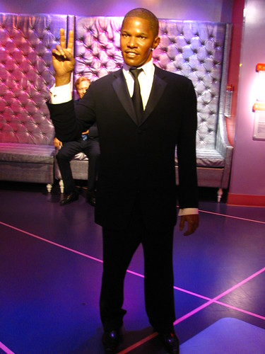 Jamie Foxx figure at Madame Tussauds Hollywood