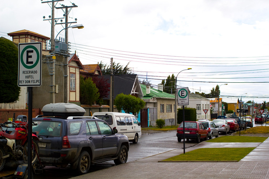 Streets of Punta Arenas