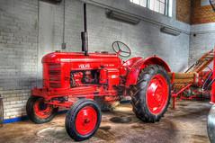 Nykbing Brandmuseum (mr172) Tags: red rot denmark volvo traktor sony sigma 1770 dnemark danmark hdr nykbing falster photomatix feuerwehrmuseum brandmuseum slta55v