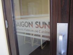 Frosted Windows at Saigon Sun Restaurant, Okotoks, Alberta (Signage and Printing Solutions) Tags: albertacanada signsdesigned manufacturedandinstalledbysignageprintingsolutionsincalgary