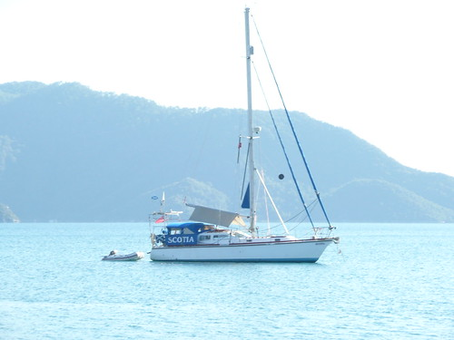Yacht in Mamaris