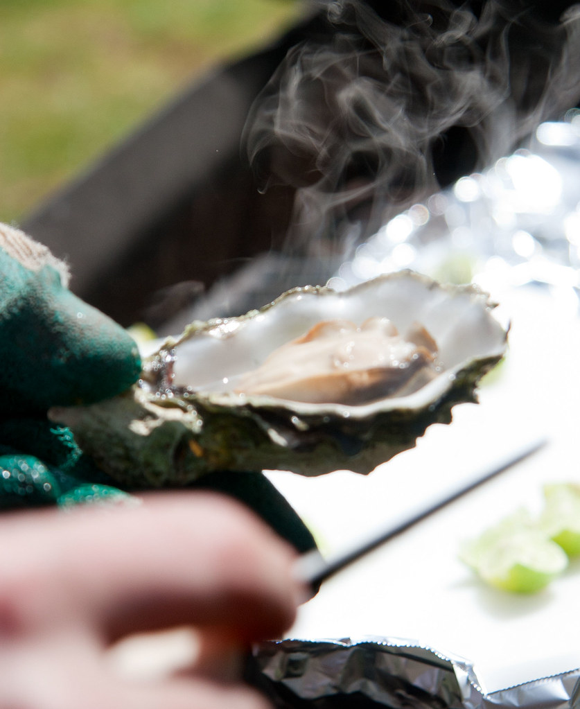 Barbecued oyster