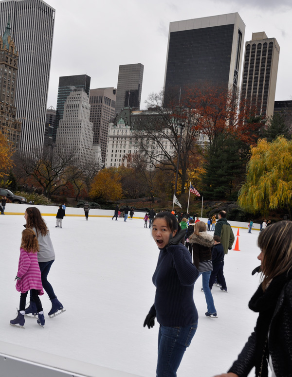 Wollman Rink, Central Park NYC