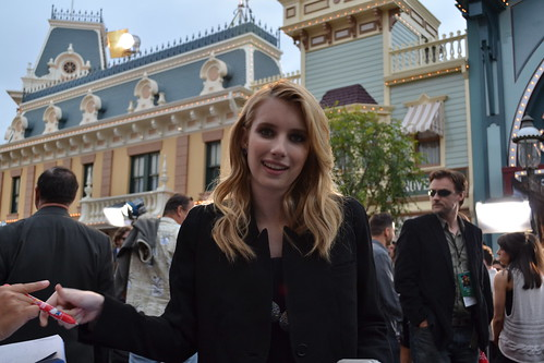 Emma Roberts on the Pirates of the Caribbean: On Stranger Tides Black Carpet
