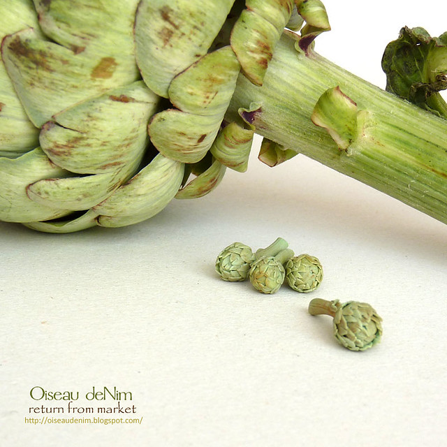 Artichokes in 12th scale