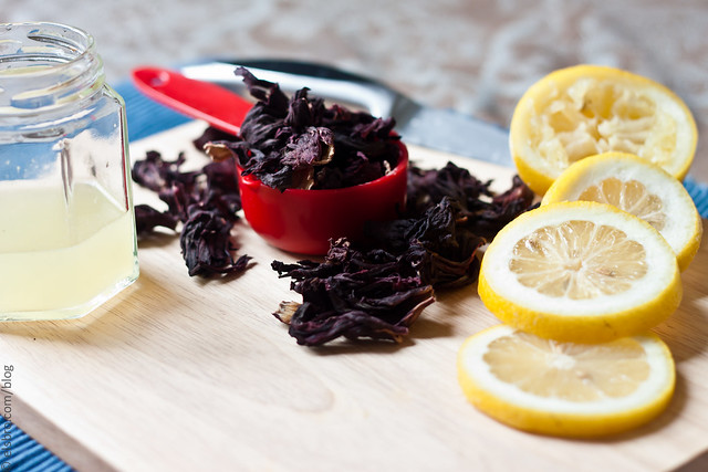 Dried Hibiscus & Lemons