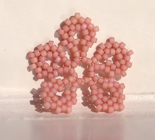 Pink Peyote Flower