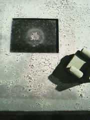 *iPhoned* - Spider (mnpix) Tags: paris sofa armchair fauteuil iphone frigos reti lesfrigos matthieunicolas limaille magnétisme mnpics mnpix scupteur