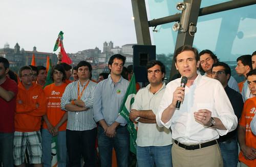 Pedro Passos Coelho encontro com Jovens