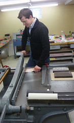 David Duguid of Rahm Bookbinding