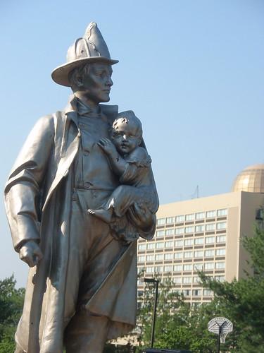 knoxville firemen memorial