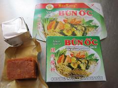 """Bao Long: """"Bun Oc seasoning"""""""