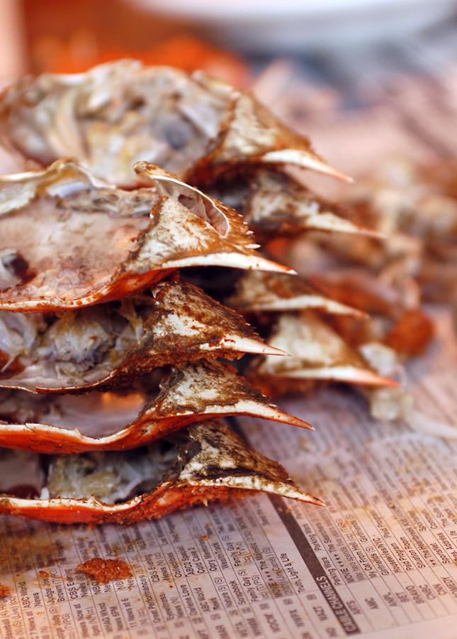 crab pile