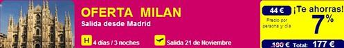 Oferta Milán