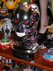 T2 Skull from Lions Gate Blu Ray/DVD Combo Pack (kennetzel) Tags: robot scifi terminator t2 jamescameron lionsgatefilms endoskeleton arholdswarchenegger