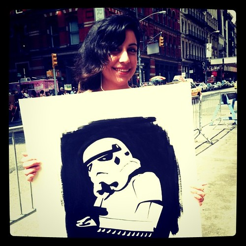 Storm Troopers In SOHO
