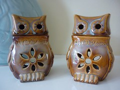 Tealight owls