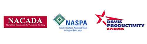 We have been cited nationally and locally for our service to students by NACADA-The Global Community for Academic Advising, NASPA-Student Affairs Administrators in Higher Education, and Davis Productivity Awards.