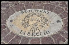 [I]  Roma - San Pietro - Rosa dei Venti  (11) (Luca Graziani) Tags: italy rome roma italia wind vento lazio vaticancity windrose cittdelvaticano libeccio sudwest rosadeiventi 225