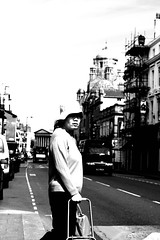In Chinatown (18mm & Other Stuff) Tags: england blackandwhite bw monochrome liverpool canon 50mm chinatown candid streetphotography documentary 50mmprimelens primelens 40d liverpoolfriday