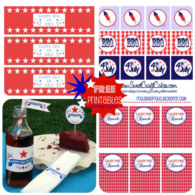4th of July Printables Collection