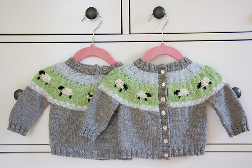 Sheep Yoke Cardigans