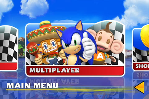 Sonic & SEGA All-Stars Racing iPad Gameplay (Grand Prix Mode) image at car games rpm