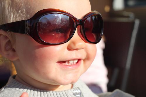 Julie blev snygg i MPs glasögon