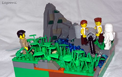 Unit 731 (Legoorci) Tags: test mountain black brick river landscape soldier army japanese death rat stream kill lego doctor torture beast poison pow development disease 731 illness chemicalwarfare unit malaria warcrime biologicalwarfare legoorci japanesewwiiunit731 humantestsubjects