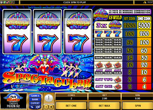 Spectacular Slots slot game online review
