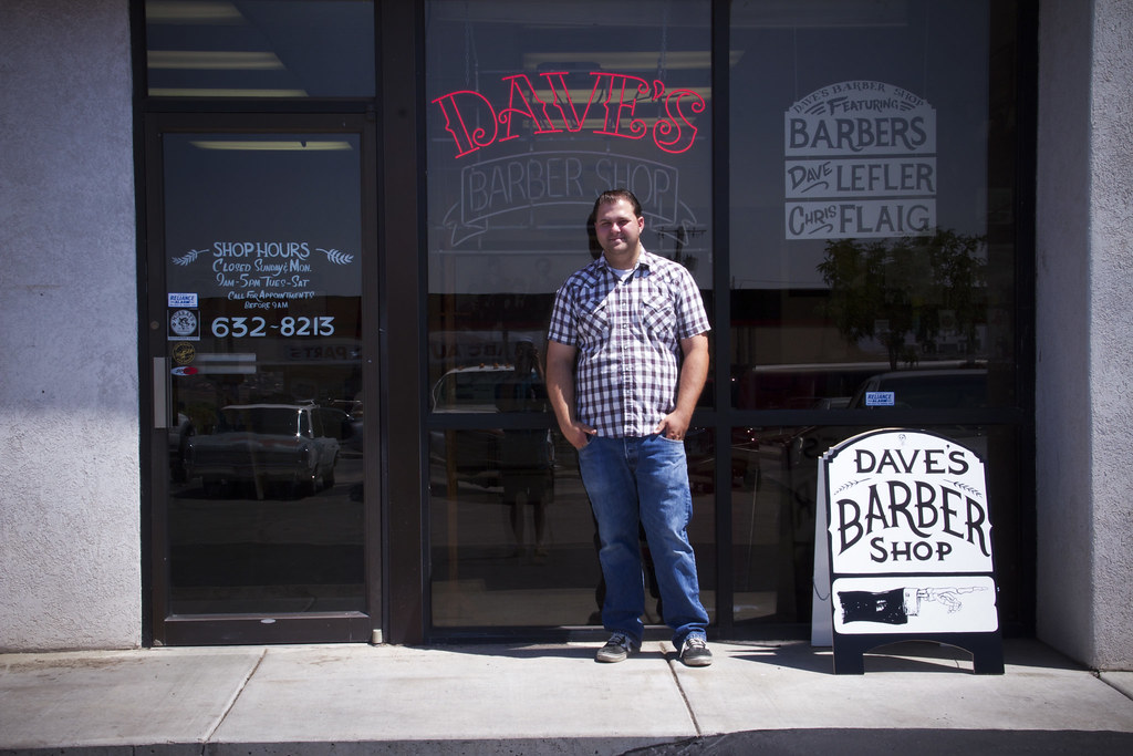 Dave and His Barber Shop