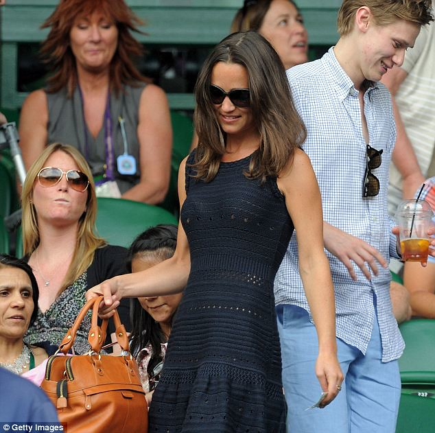 Pippa Middleton causes a stir on Wimbledon's Centre Court yet again   6