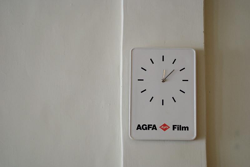 AGFA Clock