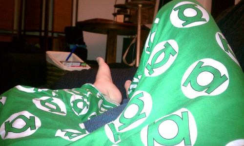 Ptw Yes, that's right, I'm wearing Green Lantern pajama pants
