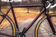 Oliver's Cross Bike (bishopbikes) Tags: bike steel bikes frame custom bishop fillet braze