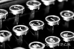 Keys (D.C.M. / DetlevCM) Tags: macro typewriter writing canon studio keys eos typing 42 olivetti 5dmkii