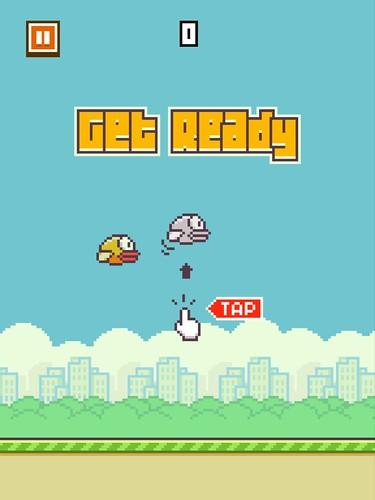 Flappy Bird Tutorial: screenshots, UI
