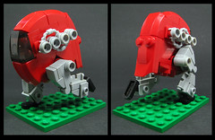 Johnny Walker - Red Label (Karf Oohlu) Tags: lego moc walker johnnywalker redlabel microscale scifi
