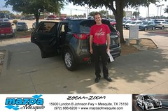#HappyAnniversary to Zachary and your 2015 #Mazda #Cx-5 from Everyone at Mazda of Mesquite! (Mazda Mesquite) Tags: mazda mesquite texas tx sportscars sporty dallas dfw metroplex automotive luxury new used preowned vehicles car dealer dealership happy customers truck pickup sedan suv coupe hatchback wagon van minivan 2dr 4dr bday shoutouts
