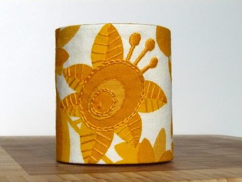 sunny & cheerful wrist cuff