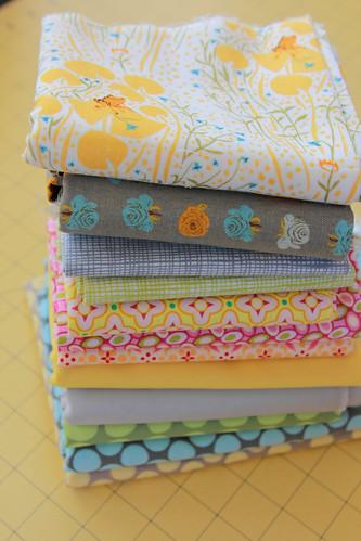 Final Market Bag fabrics - 82:365