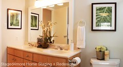 Daly City Home Staging: bathroom