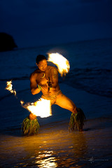 Fire Dancer (aboutrc) Tags: fire hawaii dancer kauai firedancer