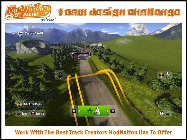 ModNation Racers team design challenge_team