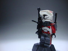 Lieutenant Pyne (jestin pern) Tags: fiction trooper sphinx star lego 5 space science corps mission fi wars 51 lit clone collaboration sci legion 26th lieutenant pyne 457th 707th cularin