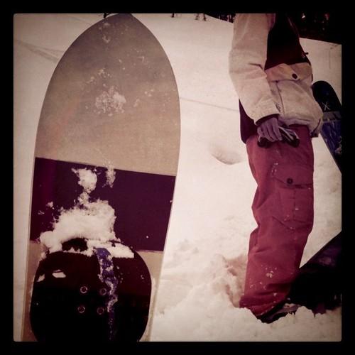 今日もノーボード出来ました!