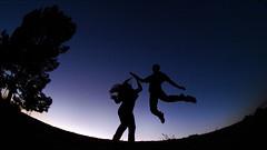 Jump (awallphoto) Tags: sunset arizona portrait sky fish tree eye hair jump az olympus fisheye ft e3 8mm zuiko f35 ultrawideangle zd fourthirds awall aaronwallace awallphoto